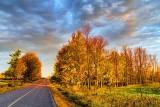 Autumn Road At Sunrise 20121020