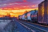 Train At Sunrise 29392