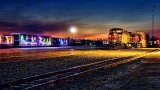 Holiday & Freight Trains At Dawn 31507-9