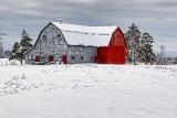 Winter Barn 32369
