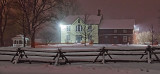 Heritage House Museum In Snowstorm 32530-2