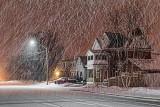 Snow At Night 20130208