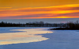Thawing Canal Sunrise 20130216