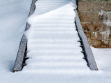 Snow-covered Steps 33643