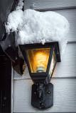 Snowy Back Porch Light 33902