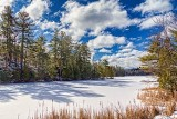 Frozen Loon Lake 34379