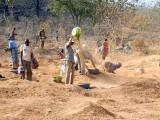 Gold mining between Gaoua ond Pô, Centre-Sud Region, Burkina Faso