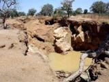 Closed down gold mine at Laongo, Centre-Sud Region, Burkina Faso