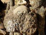 Fetish in the compound of healer and soothsayer Sib Tadjalté  (Lobi) in Kerkera, Burkina Faso.