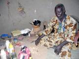 Healer and soothsayer Ouattara Soungari in Lera (Senufo tribe), Burkina Faso.