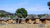 Granaries of a Turka village near Douna, Burkina Faso