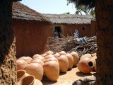 Pottery village Kawara (Griot), Burkina Faso