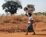 On the way to the market, Burkina Faso