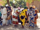 Traditional dance, Burkina Faso