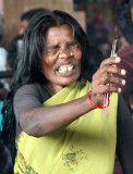 Woman possessed by the goddess, Tamil Nadu. http://www.blurb.com/books/3782738