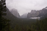 March 3 -  Rainy Tunnel View