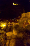 Selbe Treppe bei Nacht