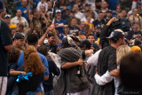 The Brewers celebrate