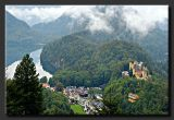 Schwangau and Hohenschwanstein Castle