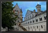 Neuschwanstein Castle Upper Courtyeard