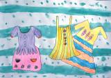 my beautiful dresses, Gu Pan En, age:5.5