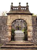 GATEWAY TO TISSINGTON HALL / PEAK DISTRICT