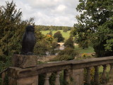 BRIDGE OVER THE RIVER LEADING TO CHATSWORTH HOUSE