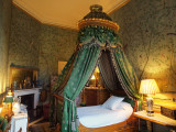 GUEST BEDROOM AT CHATSWORTH HOUSE