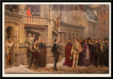 Henri III and the Duc de Guise in Blois 1588. (1855)