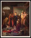 Henri III Pushing The Duc de Guise's Body with his Foot. 1832