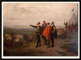 Henri III at Saint-Cloud, Starting the Siege of Paris 1589. (1869)