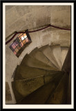 An Inviting Single Helix Staircase