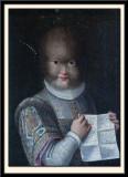 Portrait of Antonietta Gonzalez. 1595