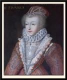 Marguerite de France, Queen of Navarre, known as La Reine Margot. 1553-1615