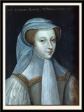 Mary Stuart, Queen of Scotland and France, 1542-1587, in mourning.