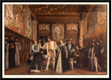 Francois 1st Confers on Rosso the Titles and Benefits of the Saint-Martin Abbey. 1865
