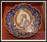Dish with a Portrait of King Francois 1st. 1881