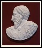 Bass Relief Portrait of King Francois 1st. before 1861