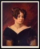 Portrait de la Baronne de Forget 1826