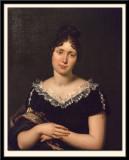 Potrait d'Emilie de Beaubarnais, Comtesse de la Valette.