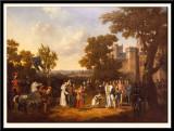 Jeanne d'Arc et Charles VII.  Salon de 1808