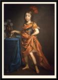 Portrait d'Enfant en General Romain