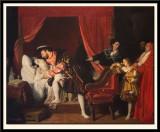 Leonardo dies in the arms of Francois I
