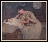 Tendresse Maternelle 1910