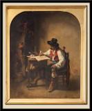 Un intérieur espagnol ou contrebandier, 1849