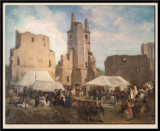 Louis-Philippe et sa famille visitant le Chateau de Pierrefonds