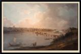 Vue deTours en amout des ponts, prise pes coteaux de Saint-Symphorien, vers 1785
