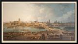 Vue panoramique de Tours en 1787
