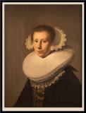 Portrait de jeune femme.