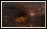 Incendie, effet de nuit, 1764